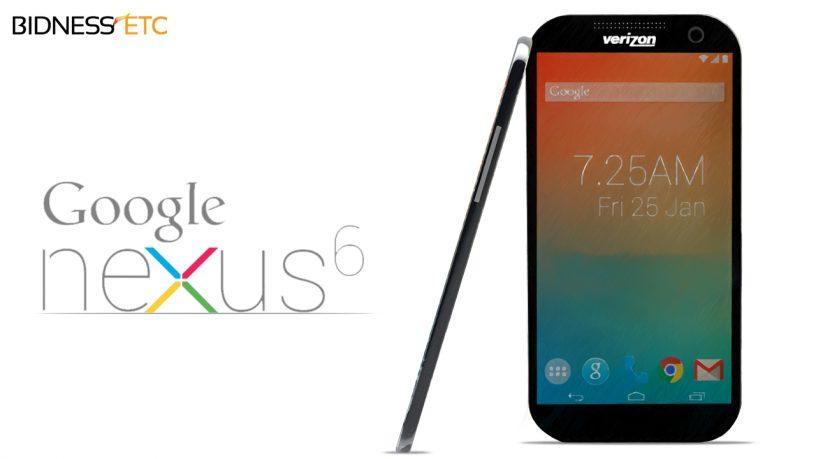 Nexus 6 yang merpakan sebuah kerjasama antara Motorola dengan Google